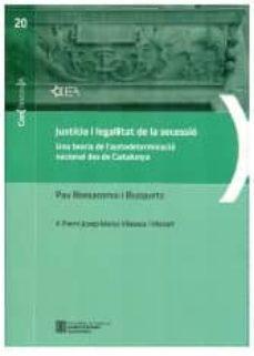 Carreracentenariometro.es Justicia I Legalitat De La Secessio: Una Teoria De L Autodeterminacio Nacional Des De Catalunya Image