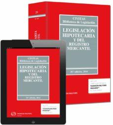 legislación hipotecaria y del registro mercantil (35ª ed.) 2014 (duo)-jose manuel garcia-9788447049950