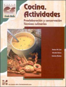 Javiercoterillo.es Cocina: Actividades (Ciclo Formativo Grado Medio Hosteleria Y Tur Ismo) Image