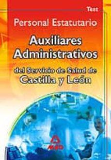 Mrnice.mx Auxiliares Administrativos Del Servicio De Salud De Castilla Y Le On. Personal Estatutario: Test Image