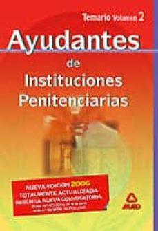 Ironbikepuglia.it Ayudantes De Instituciones Penitenciarias: Temario (Vol. Ii) Image