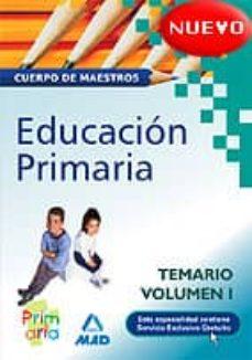 Srazceskychbohemu.cz Cuerpo De Maestros De Educacion Primaria.temario Vol.1 Image