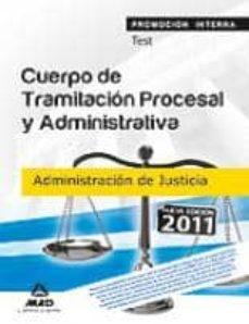 Valentifaineros20015.es Cuerpo De Tramitacion Procesal Yadministrativa (Promocion Inter Na) De La Administracion De Justicia. Test Image