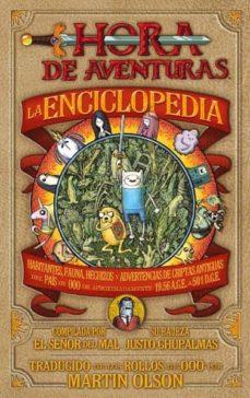 la enciclopedia de hora de aventuras-martin olson-9788467916850