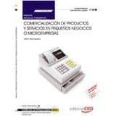 Upgrade6a.es (Mf1790_3) Manual. Comercialización De Productos Y Servicios En Pequeños Negocios O Microempresas . Certificados De Image