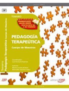 Geekmag.es Cuerpo De Maestros. Pedagogia Terapeutica Temario Vol 1 Image