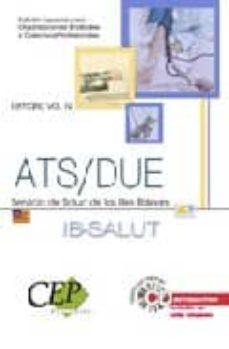 Elmonolitodigital.es Temario Vol. Iv. Oposiciones Ats/due Servicio De Salud De Las Ill Es Balears (Ib-salut). Edicion Especial Image
