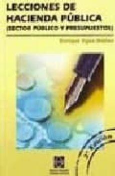 Trailab.it Lecciones De Hacienda Publica (Sector Publico Y Presupuestos 2ª Ed.) Image