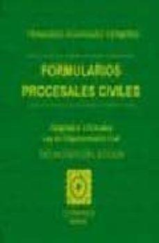 FORMULARIOS PROCESALES CIVILES (13ª ED.) - FRANCISCO RODRIGUEZ HERMOSO  