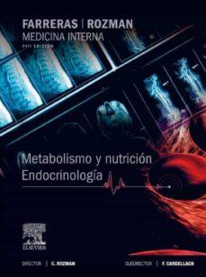 Inmaswan.es Farreras-rozman: Metabolismo Y Nutrición: Endocrinología (17ª Ed. ) Image