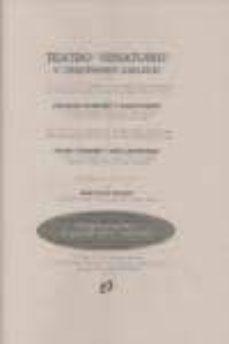 Descargador de libros epub TEATRO VENATORIO Y COQUINARIO GALLEGO de CUNQUEIRO, MONTENEGRO 9788493388850 en español MOBI