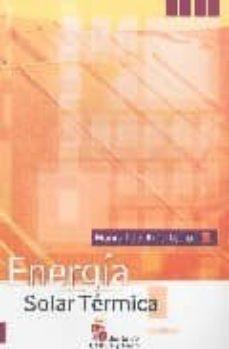 Descargar MANUAL DEL MANTENEDOR: ENERGIA SOLAR TERMICA gratis pdf - leer online