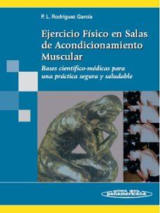 Foro ebooki descargar EJERCICIO FISICO EN SALAS DE ACONDICIONAMIENTO MUSCULAR 9788498350050 de