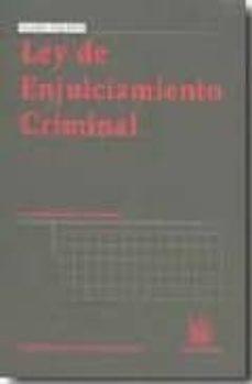 Inmaswan.es Ley De Enjuiciamiento Criminal (12ª Ed) Image