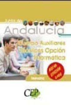 Treninodellesaline.it Cuerpo Auxiliares Tecnicos Opcion Informatica Junta De Andalucia. Temario De Oposiciones Image