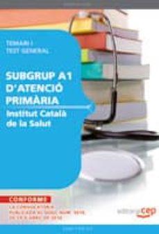Carreracentenariometro.es Institut Catala De La Salud.temari I Test General Subgrup A1 Aten Cio Primaria Image