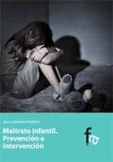 maltrato infantil: prevencion e interpretación-marta zamora pasadas-9788499769950