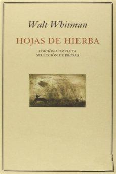 hojas de hierba & selección de prosas (ebook)-walt whitman-9788892593350