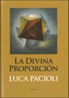 la divina proporcion-luca pacioli-9789500398350