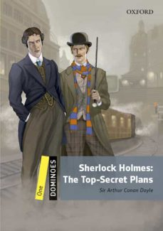 Descarga de libros de audio de dominio público DOMINOES 1 SHERLOCK HOLMES TOP SECRET PLANS MP3 PACK de  9780194639460