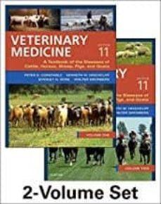 Libros para descargar a kindle VETERINARY MEDICINE : A TEXTBOOK OF THE DISEASES OF CATTLE, HORSES, SHEEP, PIGS AND GOATS (11TH REV. ED.) (TWO VOLUME SET) en español 9780702052460 de PETER D. CONSTABLE