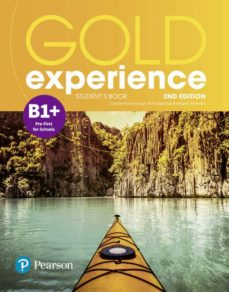 Descargar libros electrónicos gratis literatura GOLD EXPERIENCE 2ND EDITION B1 + STUDENTS  BOOK