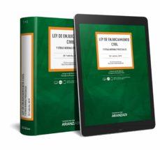 Descargar LEY DE ENJUICIAMIENTO CIVIL Y OTRAS NORMAS PROCESALES gratis pdf - leer online