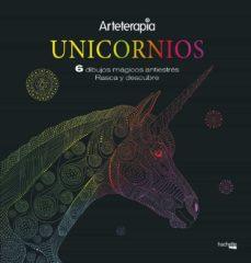 arteterapia.unicornios. 6 dibujos mágicos: rasca y descubre-9788417240660