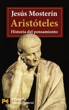 aristoteles: historia del pensamiento-jesus mosterin-9788420658360