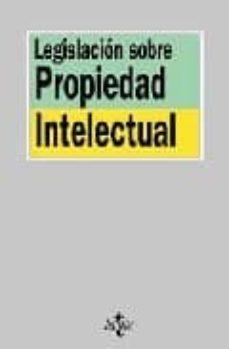 Lofficielhommes.es Legislacion Sobre Propiedad Intelectual (8ª Ed.) Image