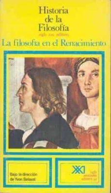 Emprende2020.es La Filosofia En El Renacimiento (T.5.) Image