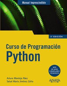 Descargar CURSO DE PROGRAMACION PYTHON gratis pdf - leer online