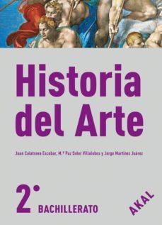 historia del arte (con cd) 2º bachillerato-9788446030560