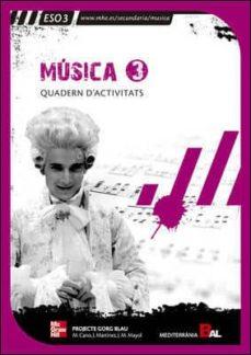 Emprende2020.es Musica 3º Educacion Secundaria Quadern. Projecte Gorg Blau Image