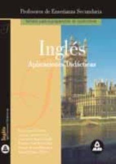 Javiercoterillo.es Ingles: Cuerpo De Profesores De Enseñanza Secundaria, Aplicacione S Didacticas Image