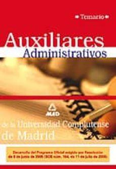 Permacultivo.es Auxiliares Administrativos De La Universidad Complutense De Madri D:_temario Image
