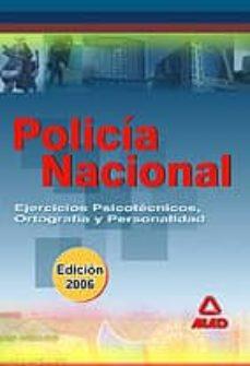 Titantitan.mx Policia Nacional: Ejercicios Psicotecnicos, Ortograficos Y De Per Sonalidad Image