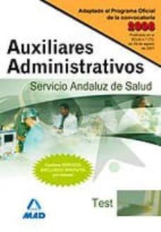 Bressoamisuradi.it Auxiliares Administrativos Del Servicio Andaluz De Salud. Sas. Te St Image