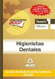 Permacultivo.es Higienistas Dentales Del Servicio De Salud De Castilla-la Mancha (Sescam). Temario (Vol. I) Image