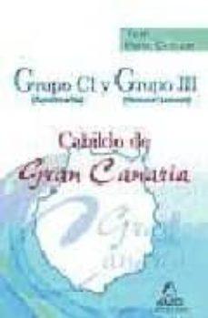 Titantitan.mx Grupo C1 (Funcionarios) Y Grupo Iii (Personal Laboral) Del Cabild O De Gran Canaria. Test Parte Comun Image