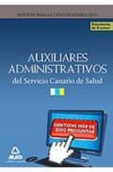 Inciertagloria.es Auxiliares Administrativos Del Servicio Canario De Salud: Simulac Ros Examen Image