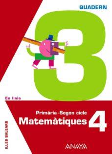 Geekmag.es Matemàtiques 4. Quadern 3.illes Balearscatalán Image