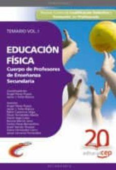 Inmaswan.es Cuerpo De Profesores De Enseñanza Secundaria. Educacion Fisica. T Emario Vol. I. Image