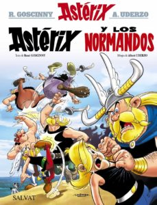 asterix 9: asterix y los normandos-albert uderzo-rene goscinny-9788469602560