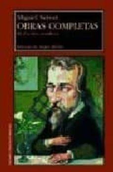 Leer el libro electrónico en línea OBRAS COMPLETAS III: ESCRITOS CIENTIFICOS 9788477337560 de MIGUEL SERVET DJVU MOBI