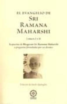 el evangelio de sri ramana maharshi libros i y ii: respuestas de bhagavan sri ramana maharshi-jordi quingles-9788483522660