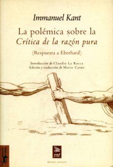 la polémica sobre la crítica de la razón pura (ebook)-immanuel kant-9788491142560