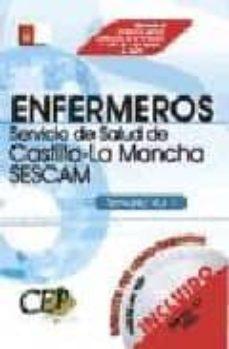 Chapultepecuno.mx Temario Vol. I: Oposiciones Enfermeros Servicio De Salud De Casti Lla-la Mancha (Sescam) Image