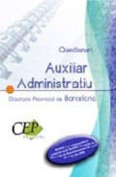 Valentifaineros20015.es Auxiliar Administratiu Diputacio Provincial De Barcelona: Qüestio Nari Especific Image