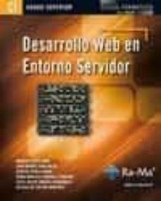 desarrollo web en entorno servidor (grado superior)-juan manuel vara mesa-9788499641560